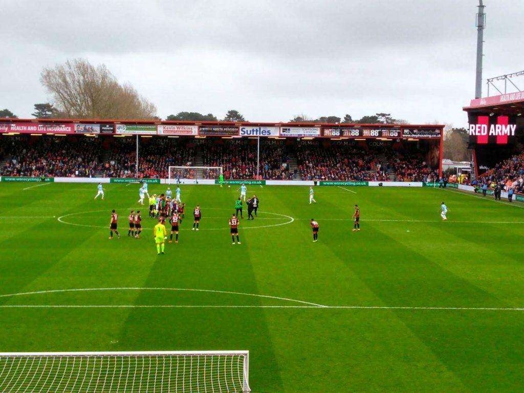 ボーンマス、マンチェスターシティとのホームゲーム1-0敗戦