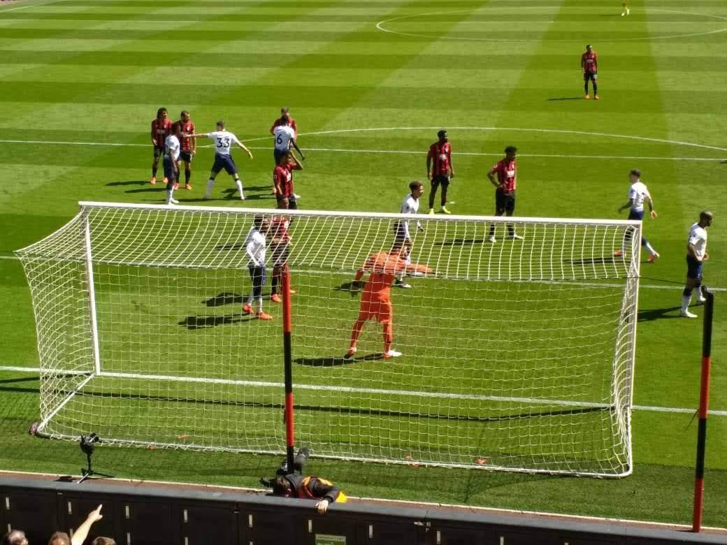 ボーンマス、トッテナム・ホットスパーFCに1-0で快勝、今期最後のホームゲーム