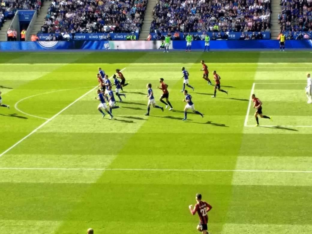 ボーンマス、レスター・シティFC戦、3-1で敗北